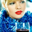 Beautiful Blue Christmas — Stock Photo #1932060