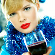 Beautiful Blue Christmas — Stock Photo #1932064