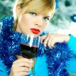 Beautiful Blue Christmas — Stock Photo #1932069