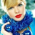 Beautiful Blue Christmas — Stock Photo #1932074