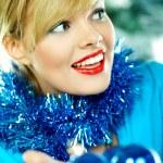 Beautiful Blue Christmas — Stock Photo #1932079