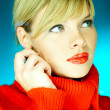 Red Sweater — Foto Stock