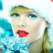 Beautiful Blue Christmas — Stock Photo #1932286