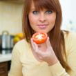 Woman in Kitchen — Stock Photo #1933538