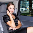 Stock Photo: Business in Limo