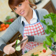 Woman in Kitchen — Stock Photo #1933640