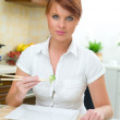 Woman in Kitchen — Stock Photo #1933645
