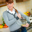 Woman in Kitchen — Stock Photo #1933700