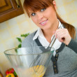 Woman in Kitchen — Stock Photo #1933728