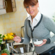 Woman in Kitchen — Stock Photo #1933750