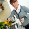 Woman in Kitchen — Stock Photo #1933768