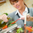 Woman in Kitchen — Stock Photo #1933814
