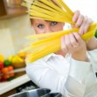Woman in Kitchen — Stock Photo #1933946