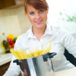 Woman in Kitchen — Stock Photo #1933949
