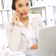 Business Woman in Office — Stock Photo #1946717