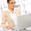 Business Woman in Office — Stock Photo #1946753