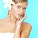 Blond haired schoonheid — Stockfoto