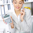 Foto Stock: Business Woman in Office