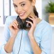 Listen to the music — Stock Photo