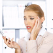 Business Woman in Office — Stock Photo #1949476