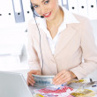Business Woman in Office — Stock Photo #1949489