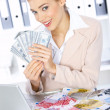 Business Woman in Office — Stock Photo #1949492