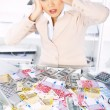 Business Woman in Office — Stock Photo