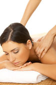 Spa en massage — Stockfoto
