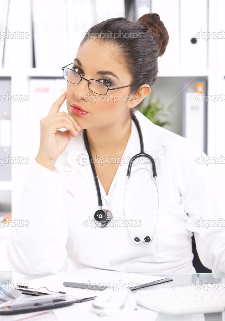 Portrait of female doctor  Stock Photo #1946888