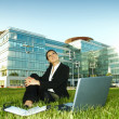 Business Outdoors — Stock Photo