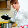 Woman in Kitchen — Stock Photo #1955813