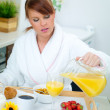 Woman in Kitchen — Stock Photo #1955861