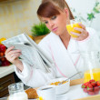 Woman in Kitchen — Stock Photo #1955926