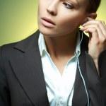 Sexy Business Woman MG. — Stock Photo