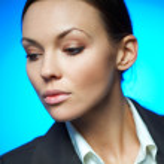 Sexy Business Woman MG — Stock Photo