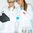Female in lab — Stock Photo #1958782