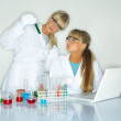Female in lab — Stock Photo #1958848