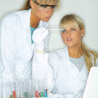 Female in lab — Stock Photo #1958852