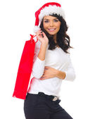 Christmas shopping — 图库照片