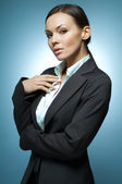 Sexy Business Woman MG. — Stock Photo