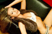 Miss Lingerie — Stock Photo