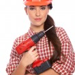 Stock Photo: Female worker