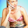 Talking cell phone — Stock Photo #1960958