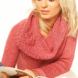 Stockfoto: Women reading magazine