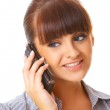 Business Woman on the phone — Stock Photo #1961731