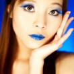 Blue Lips — Stock Photo