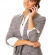 Business Woman on the phone — Stock Photo #1962326