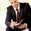 Stock Photo: Portrait of Businessman