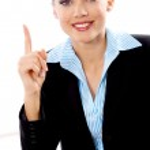 Blond Businesswoman — Stock Photo #1963386