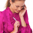 Business Woman on the phone — Stock Photo #1967330